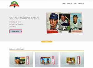 Oldies but Goodies Vintage Baseball Cards